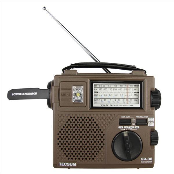 Радіоприймач TECSUN GREEN-88