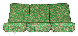 Комплект поролоновых подушек для садовой качели 168 см (001)