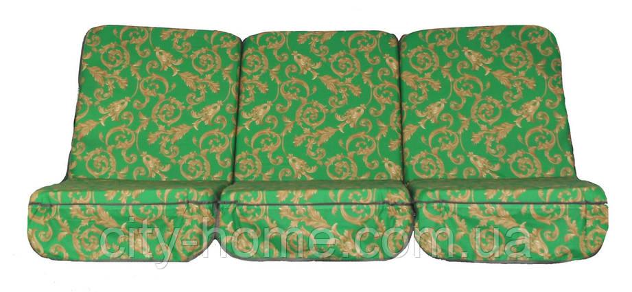 Комплект поролоновых подушек для садовой качели 168 см (001), фото 2