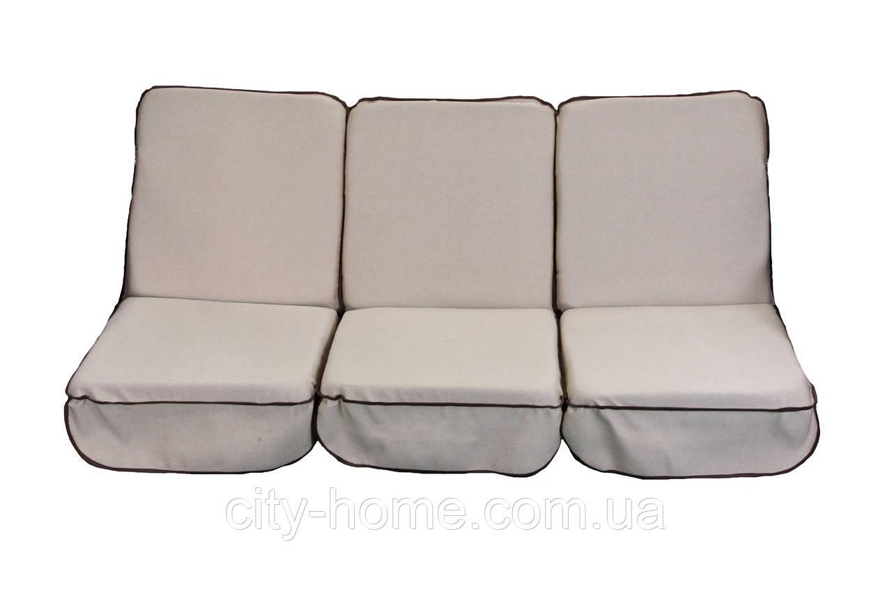 Комплект поролоновых подушек для садовой качели 168 см (051)
