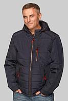 Мужская весенняя, демисезонная куртка больших размеров р-50, 52, 54, 56, 58 Модная, стильная, красивая новинка