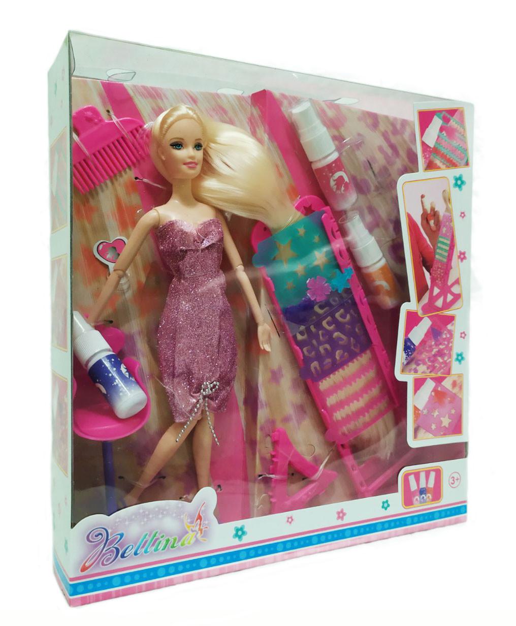"Кукла ""Bettina"" 66449 покрась волосы"