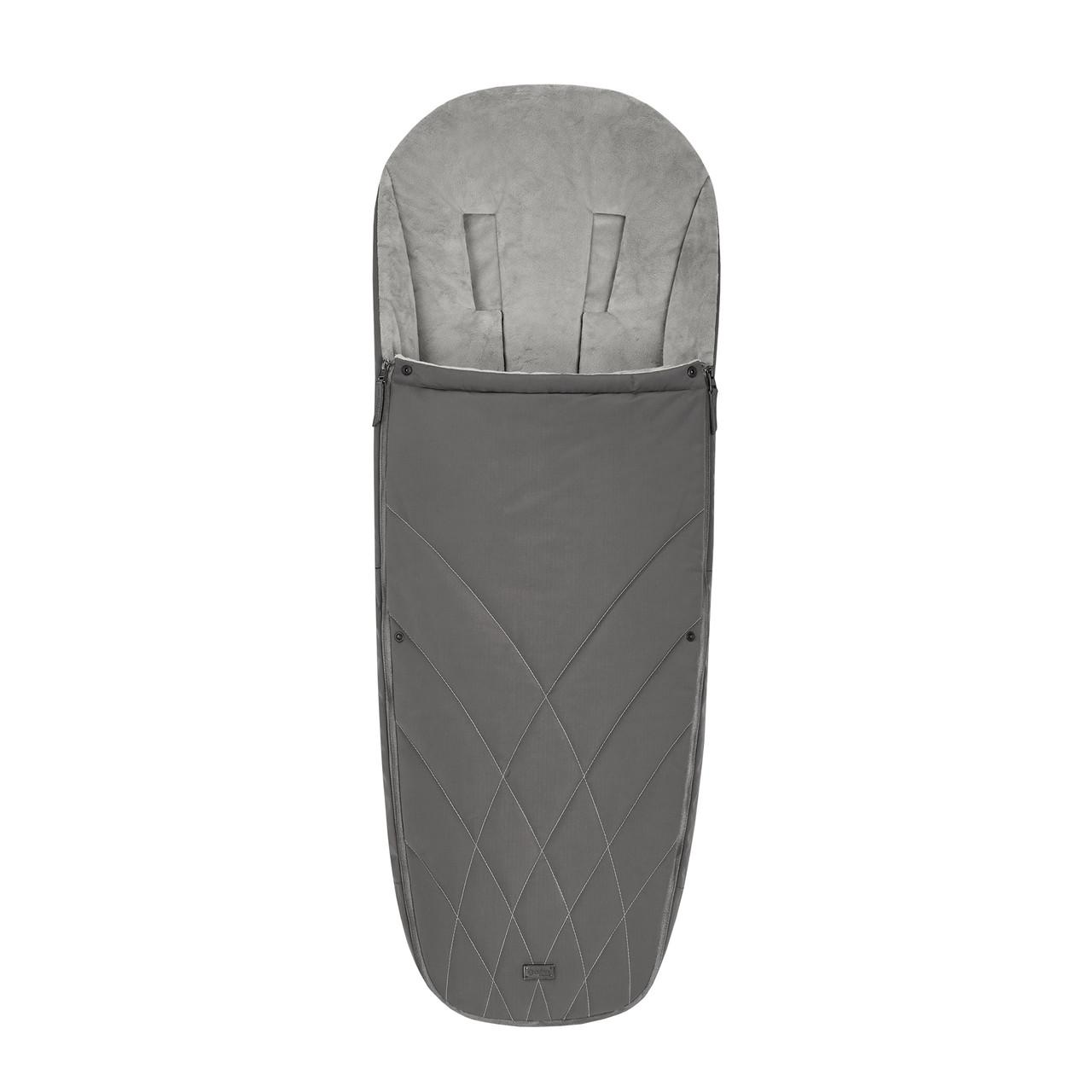 Чехол для ног Platinum/Soho Grey mid grey Cybex