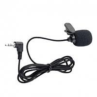 Петличний мікрофон для ноутбука, комп'ютера, камери Alitek Alen, тканинний шнур, фото 1