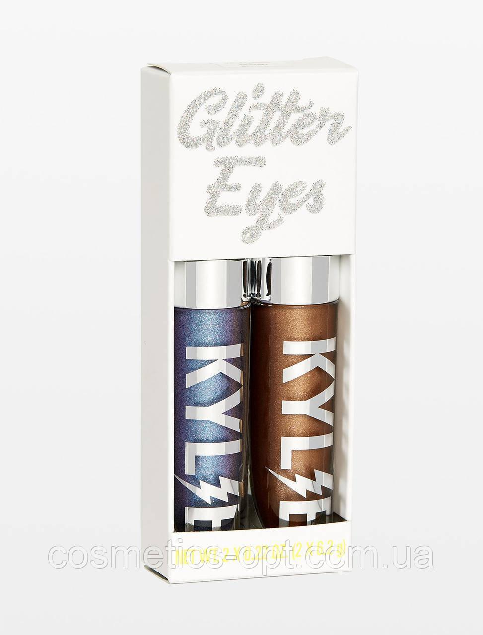 Жидкие тени для глаз Kylie Glitter Eyes (реплика)