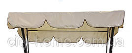 Тент для садовых качелей 203 х 160 см без москитной сетки (008)