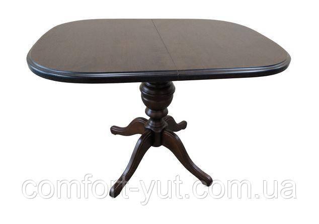 Стол Эмиль обеденный раскладной деревянный 105(+38)*74 венге