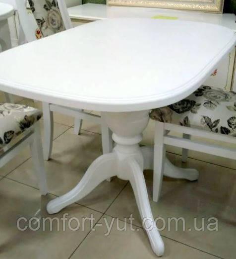 Стол Эмиль обеденный раскладной деревянный 105(+38)*74 венге - фото 4