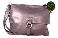 Итальянская кожаная сумка-мессенджер BI00-01