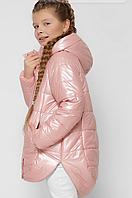 Демисезонная куртка на девочку, на рост 122-158см