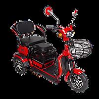 Электрический мопед  AGAMI xk 500W/48V/20AH(GL) (красный), фото 1