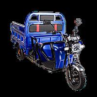 Электрический мопед TRIGO JJ1.6  1200W/60V/55AH(MG) (синий), фото 1