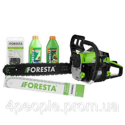 Бензопила цепная Foresta FA-48S + Пильная шина + Цепь + 2 масла|СКИДКА ДО 10%|ЗВОНИТЕ, фото 2