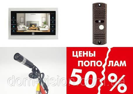 Видеодомофон DOM DS-10S+ панель вызова + камера ( с витрины распродажа), фото 2