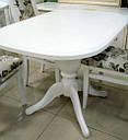 Стол Эмиль обеденный раскладной деревянный 105(+38)*74 итальянский орех, фото 9