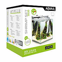 Аквариум Aquael Fish & Shrimp Set Duo 35 White (49л)