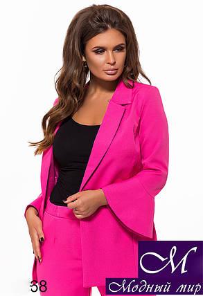 Женский костюм пиджак + брюки (р. S, M, L) арт. 27-068, фото 2