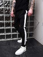 Спортивные штаны мужские Lampas x black-white весенние / осенние