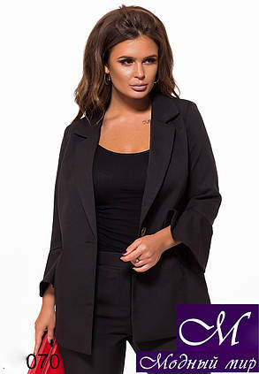 Костюм женский пиджак + штаны (р. S, M, L) арт. 27-070, фото 2