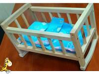 Кроватка игрушечная постель ВП-002/1 Винни Пух