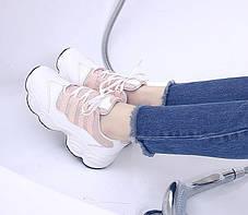 Стильные женские кроссовки на высокой подошве, 36 - 39, фото 2