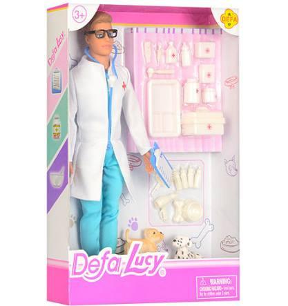 Кукла DEFA 8346B доктор