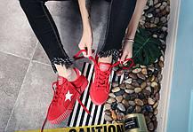Стильные женские кроссовки с звездами, 35 - 40, фото 3