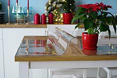 Мягкое стекло, прозрачное покрытие для защиты деревянных и стеклянных поверхностей, 1200 мкм