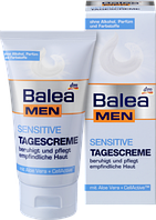 Дневной крем для лица Balea men Sensitive, 75 мл.