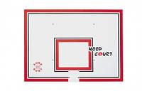 Баскетбольный щит SureShot Hoop court (полипропилен) 120х90