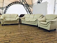 """Кожаный двухместный диван «Паранская"""""""