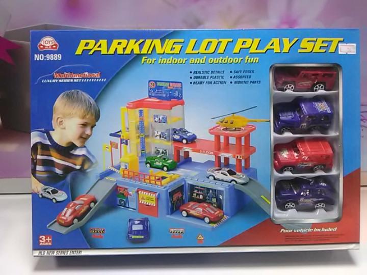 Паркинг парковка с набором машинок