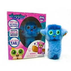 Інтерактивний браслет Little Live Wrapples (Блакитний) \ Іграшка браслет Враплес scs