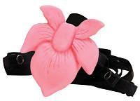 Вибромассажер клиторальный стимулятор с поясом Lotus Blossom