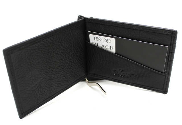 """Кожаный мужской кошелек с зажимом """"Moro"""" YR 168-25C"""