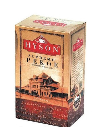 Цейлонский черный чай Hyson Supreme Pekoe 100 г