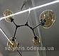 Люстра молекула на 4 плафона 881/4 корпус только белый  (коньячный,серый,прозрачный), фото 3