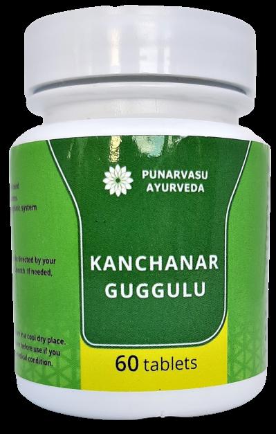 Канчнар гуггул 60 таб / Kanchnar Guggulu - варикоз,простатит,пухлини