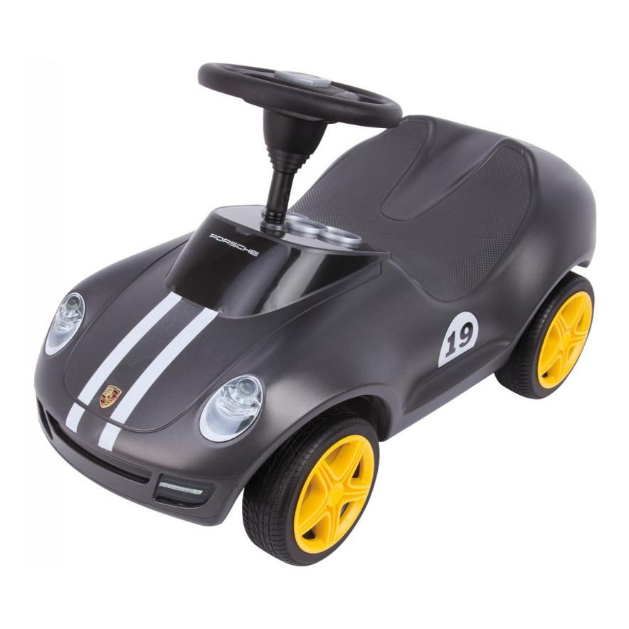 Детская машинка каталка Porsche Big 56346 толокар + накладки на обувь (дитячий автомобіль)