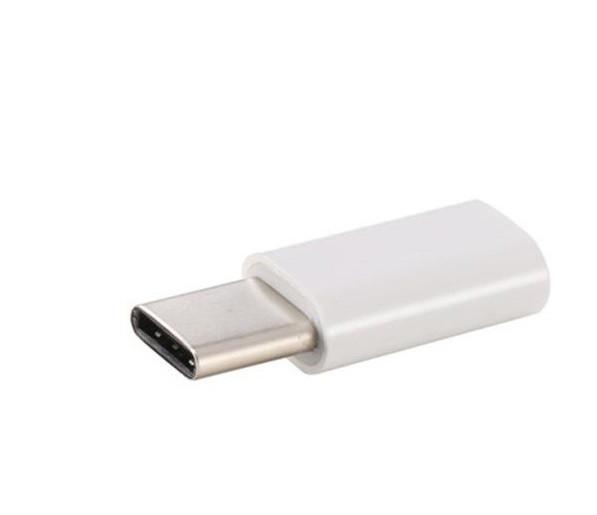 Переходник адаптер USB type C - microUSB