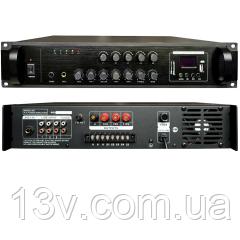 Трансляційний підсилювач PADIG120 5zone USB/MP3/FM/BT