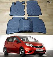 Коврики на Nissan Note (E12) '14-. Автоковрики EVA