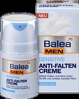 Крем против морщин Balea men Sensitive Anti-Falten, 50 мл.