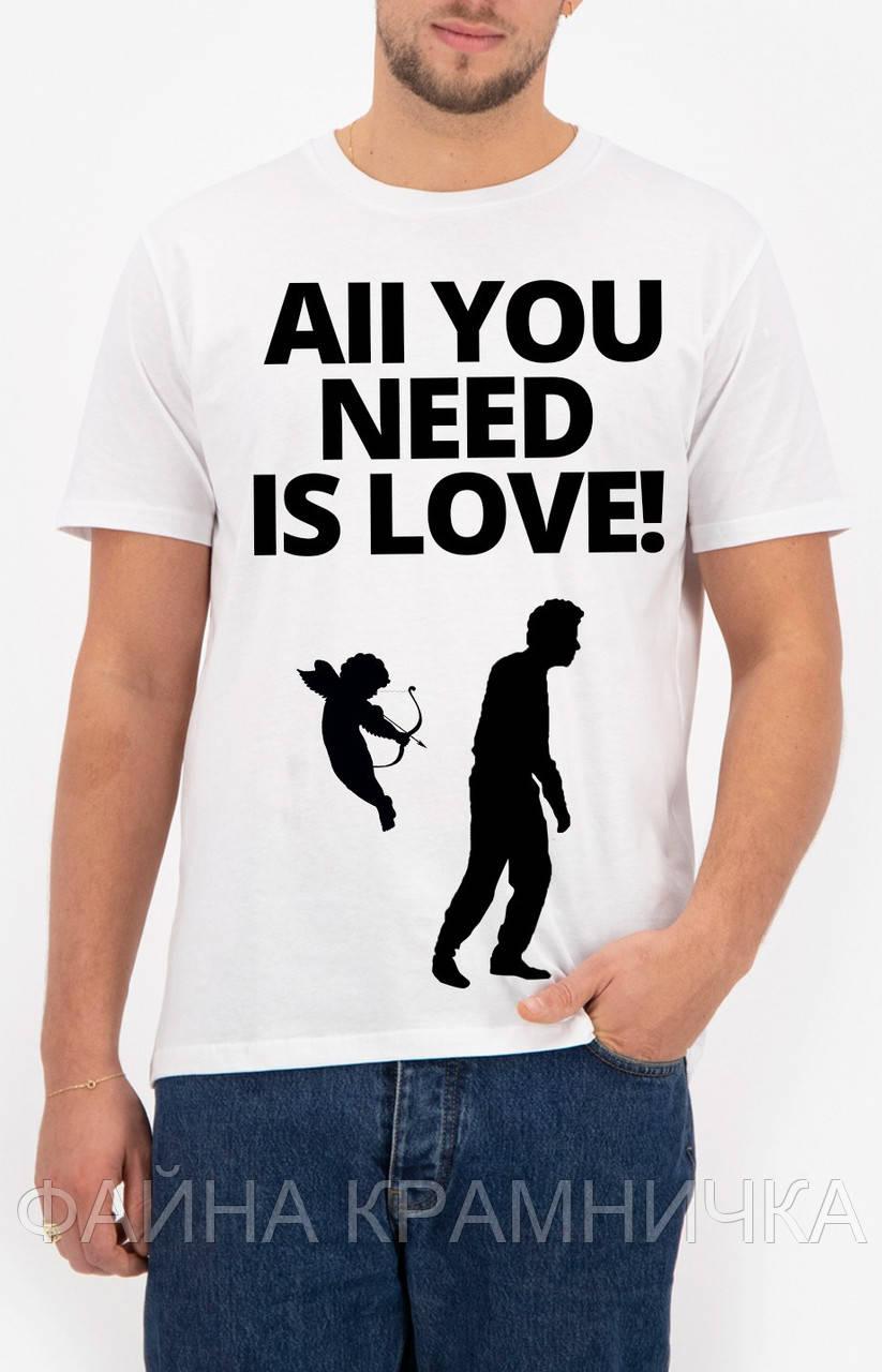 Прикольні футболки для до Дня Закоханих!