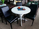 Стол «Анжелика» обеденный раскладной деревянный орех, фото 5
