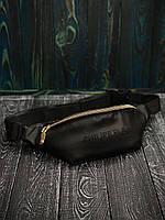 Бананка кожаная Philipp Plein X black сумка через плечо мужская / женская, фото 1