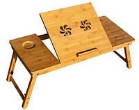 Бамбуковый столик для ноутбука T13