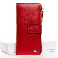 Кошелек Classic кожа DR. BOND  WMB-1 red.Женский кожаный кошелек оптом и в розницу в Украине., фото 1