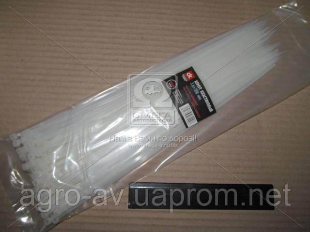 Хомут пластиковый (DK22-3.6х300WT) 3.6х300мм. белый 100шт./уп. <ДК>
