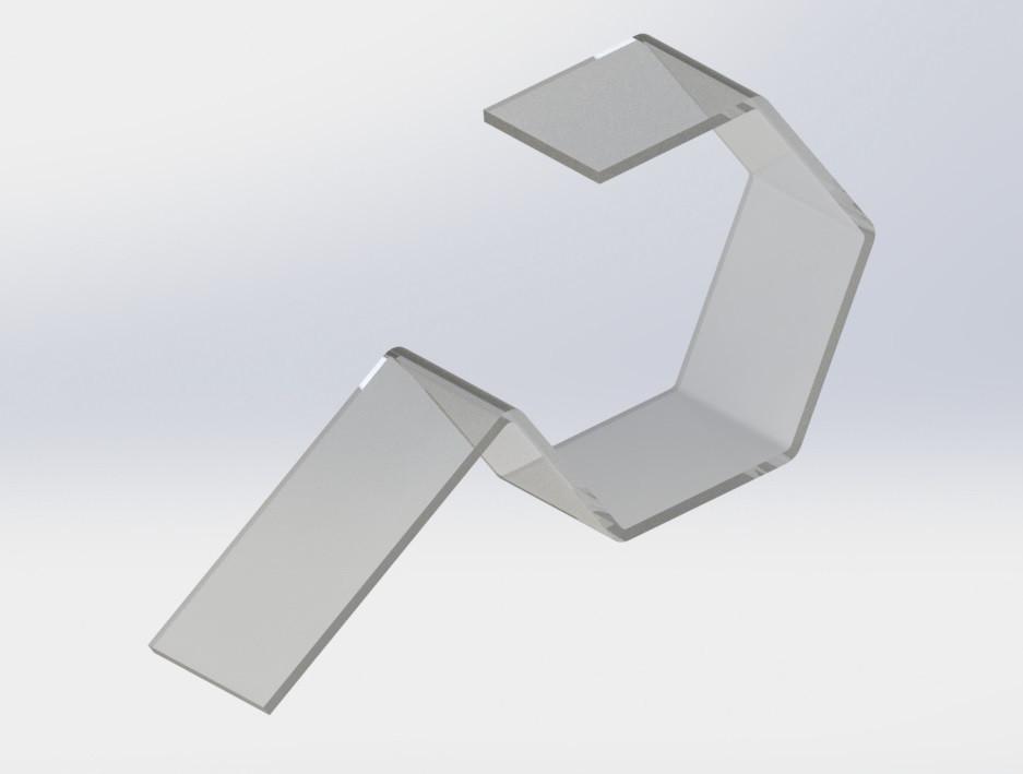 Подставка под ремень 38 x 91 x 3 мм.